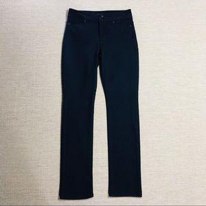 NYDJ Skinny Black Jeans Pants 0P Petite